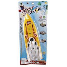 Катер Shantou Gepai Rasing Boat желтый свет, звук 8631A