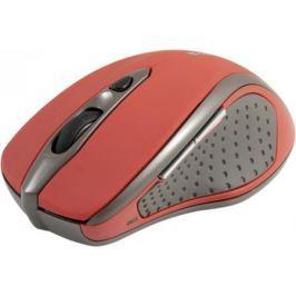 Мышь беспроводная DEFENDER Safari MM-675 Nano красный USB 52676
