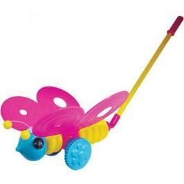 Каталка на палочке Плэйдорадо Бабочка разноцветный от 1 года пластик