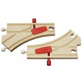 Железная дорога Brio полотно с переключателем направления