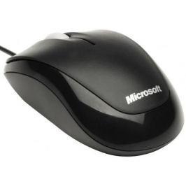 Мышь проводная Microsoft Compact Optical Mouse 500 чёрный USB 4HH-00002