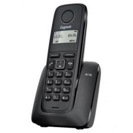 Радиотелефон DECT Gigaset A116 черный
