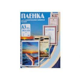 Пленка для ламинирования Office Kit, 100 мик, А3, 100 шт., глянцевая 303х426 (PLP10630)