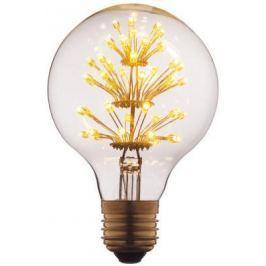 Лампа светодиодная E27 3W шар прозрачный G8047LED