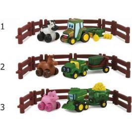 Игровой набор Tomy Johnny Tractor and Friends - Приключения на ферме ассортимент ТО37722АМ6