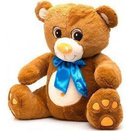 Мягкая игрушка медведь Fluffy Family Мишка Тоша 70 см коричневый плюш 681178