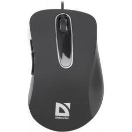 Мышь проводная DEFENDER Datum MM-070 чёрный USB 52070