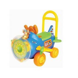 Каталка-машинка Kiddieland Тигруля с пропеллером разноцветный от 1 года пластик KID 037499