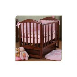 Кроватка с маятником Лель Лилия АБ17.2 (махагон)