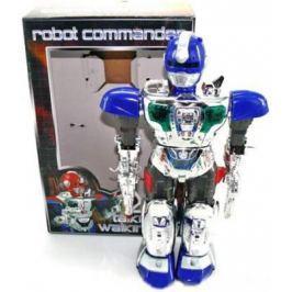 Боевой робот Shantou Gepai Robot Commander 38 см двигающийся со звуком светящийся JL-728D