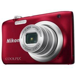 Фотоаппарат Nikon Coolpix A100 20Mp 5x Zoom красный