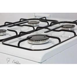 Комбинированная плита De Luxe 5040.21гэ ЧР белый