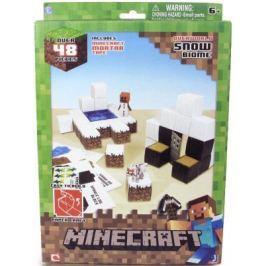 """Конструктор Minecraft """"Снежный биом"""" 48 элементов 16712"""