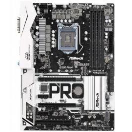 Материнская плата ASRock B250 PRO4 Socket 1151 B250 4xDDR4 2xPCI-E 16x 1xPCI 3xPCI-E 1x 6 ATX Retail