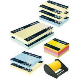 Набор бумаги с липким слоем Index 127х75 мм многоцветный I-SET