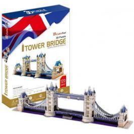 Пазл 3D CubicFun Тауэрский Мост (Великобритания) 120 элементов MC066H