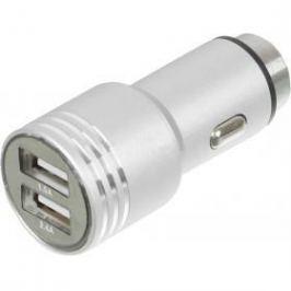 Автомобильное зарядное устройство Wiiix UCC-2-12 2 х USB 2.1/1А серебристый
