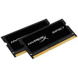 Оперативная память для ноутбуков SO-DDR3 16Gb(2x8Gb) PC17000 2133MHz Kingston CL11 HX321LS11IB2K2/16 HyperX Impact Black