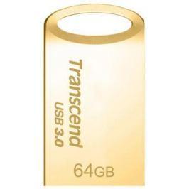 Флешка USB 64Gb Transcend JetFlash 710S TS64GJF710G золотистый