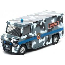 Фургон Пламенный мотор 1:32 Фургон Омон 18 см камуфляж 87506