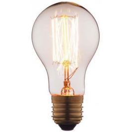 Лампа накаливания E27 40W груша прозрачная 1003-T