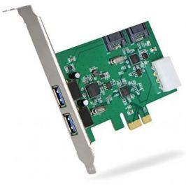 Контроллер PCI-E Orient VA-3U2SA2PE USB3.0
