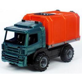 Машина Нордпласт Фургон Спецтехника оранжевый 39 см