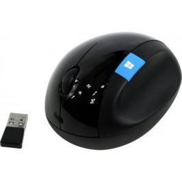 Мышь беспроводная Microsoft Sculpt Ergonomic чёрный USB L6V-00005