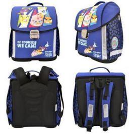 Ранец с рельефной спинкой Action! ANGRY BIRDS STELLA синий SA-ASB9001/1 SA-ASB9001/1