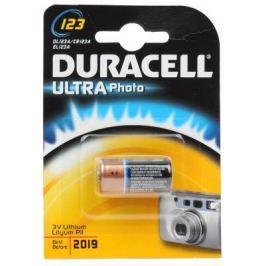 Батарейка Duracell Ultra Lilhium CR123A 1 шт