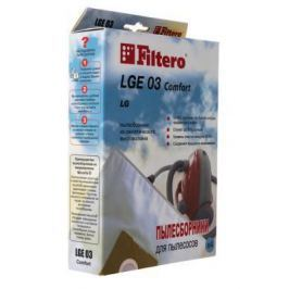 Пылесборник Filtero LGE 03 Comfort 4 шт