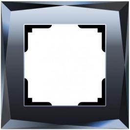 Рамка Diamant на 1 пост черный WL08-Frame-01 4690389054396