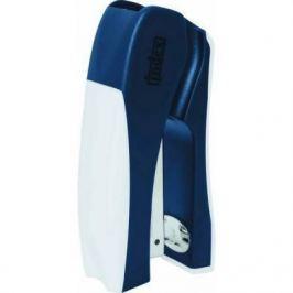 Cтеплер, скоба № 24/6, на 20 листов, пластиковый корпус, вертикальный, син/бел
