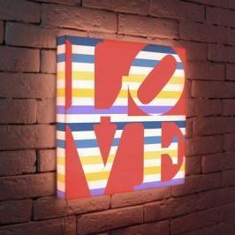 Лайтбокс LOVE 2 45x45-125