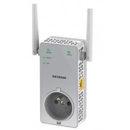 Ретранслятор NetGear EX3800-100PES 802.11bgn 750Mbps 2.4 ГГц 1xLAN RJ-45 серый