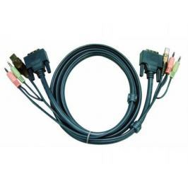 Кабель ATEN 2L-5303U HD15M/USBM/SP/SP-SPHD15M 3M