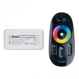 Контроллер для светодиодных лент 12/24В с пультом ДУ 2,4 ГГц (11107) Uniel ULC-G50-RGBW Black