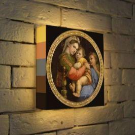 Лайтбокс Рафаэль Мадонна 25x25-165