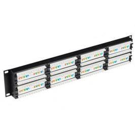 Патч-панель ITK PP48-2UC6U-D05 2U 48 портов IDC Dual