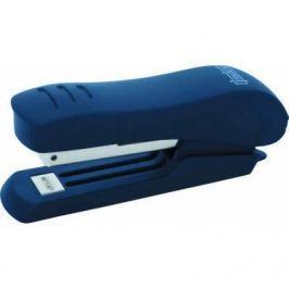 Степлер, скоба №10, на 15 листов, пластиковый корпус, синий