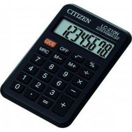 Калькулятор карманный Citizen LC-210N 8-разрядный