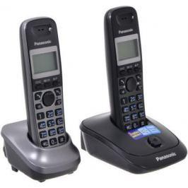 Телефон DECT Panasonic KX-TG2512RU2 серый