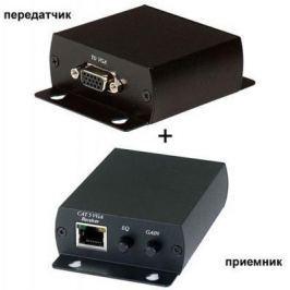 Комплект SC&T для передачи VGA сигнала TTA111VGA-T+TTA111VGA-R по витой паре 300 метров 1 VGA коннектор и RJ45 TTA111VGA-2