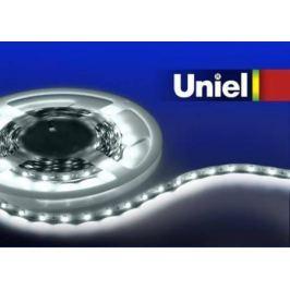 Светодиодная лента Uniel (04910) 3M белый 14.4W ULS-3528-60LED/m-8mm-IP33-DC12V-4,8W/m-3M-W