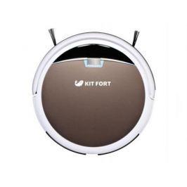 Робот-пылесос KITFORT KT-519-4 24Вт бело-коричневый