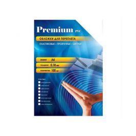 Обложки Office Kit PBA400180 А4 0.18мм прозрачный синий 100шт