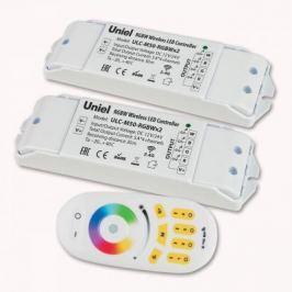 Контроллер для светодиодных лент 12/24В с пультом ДУ 2,4 ГГц (11108) Uniel ULC-M50-RGBWx2 White