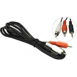 Кабель соединительный 5.0м 5bites 3.5 Jack (M) - 2xRCA (M) стерео аудио AC35J2R-050M