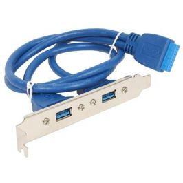 Планка в системный блок 2xUSB 3.0/20pin Gembird CC-USB3-RECEPTACLE