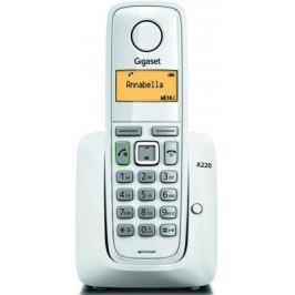 Радиотелефон DECT Gigaset A220 белый